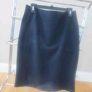 Ellen Tracy Navy Pencil Skirt